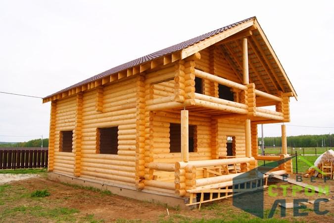 Скидки на строительство дома из бревна в мае 2017
