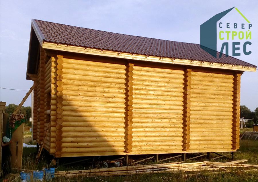 Какую древесину лучше использовать для строительства бани