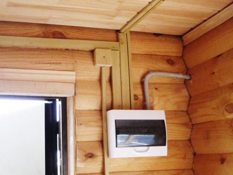 Электричество в деревянном доме - 1