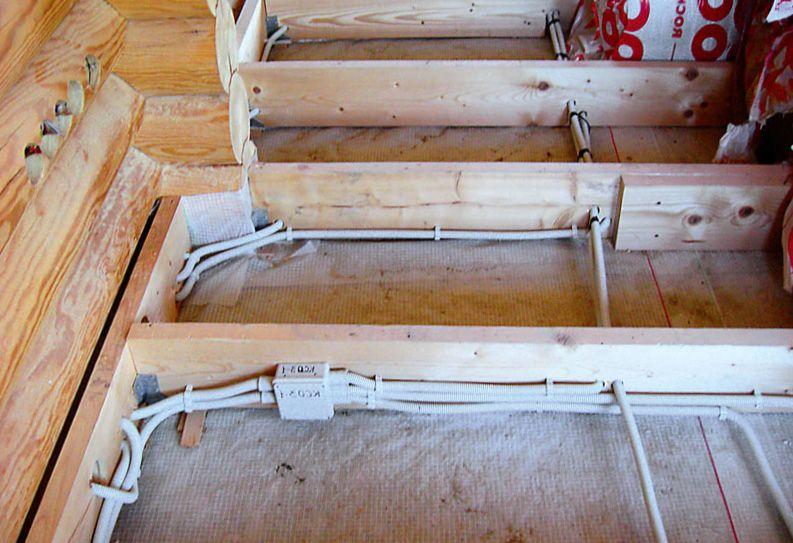 Электричество в деревянном доме - 2