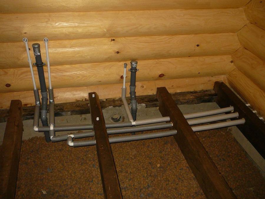 Канализация в деревянном доме - 1