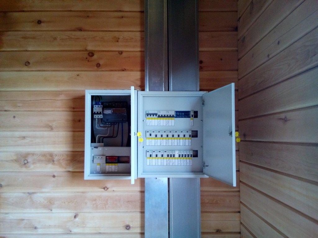 Электропродвка в деревянном доме