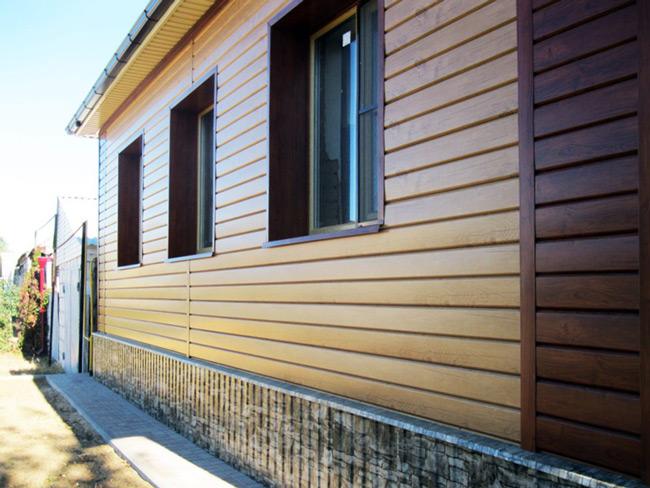 Обшивка деревянного дома сайдингом - 2