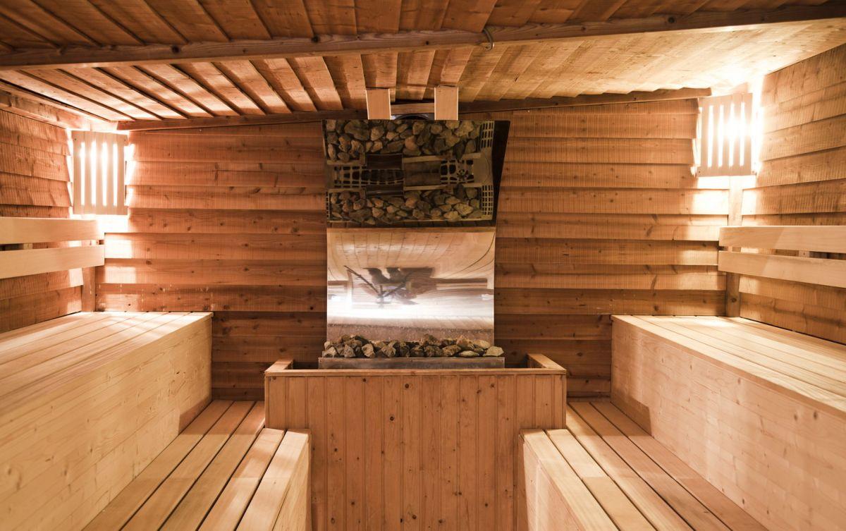 Сауна в деревянном доме