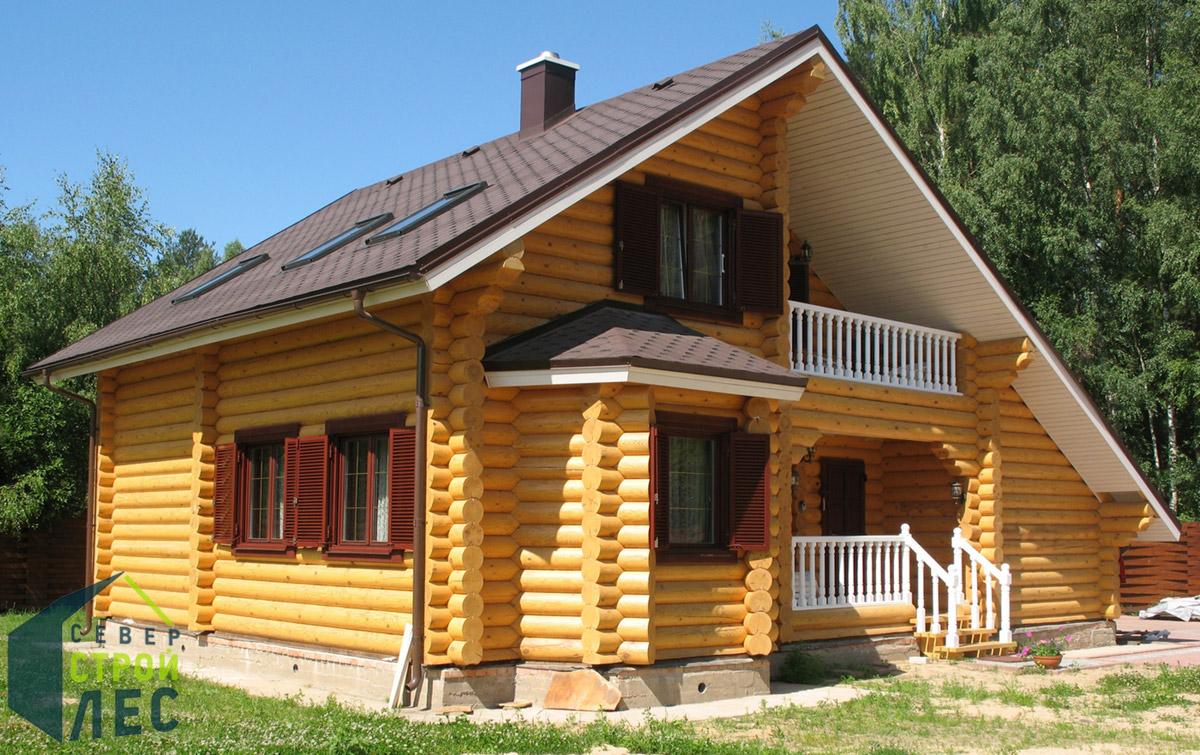 Преимущества срубов домов