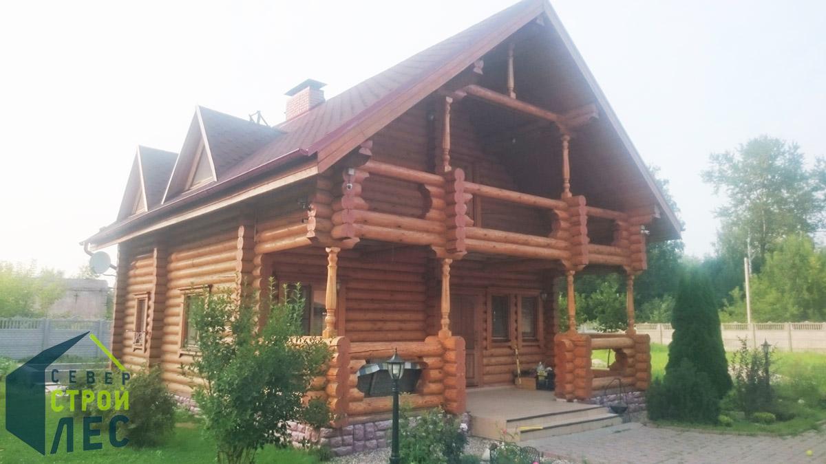 Оригинальный сруб дома - 2