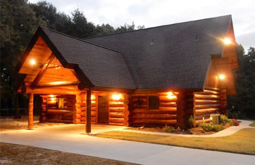 Освещение загородного деревянного дома - 1