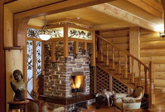 Печное отопление деревянного дома - 1