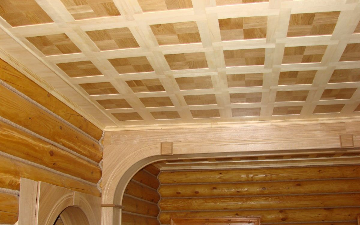 Потолок своими руками для дачи