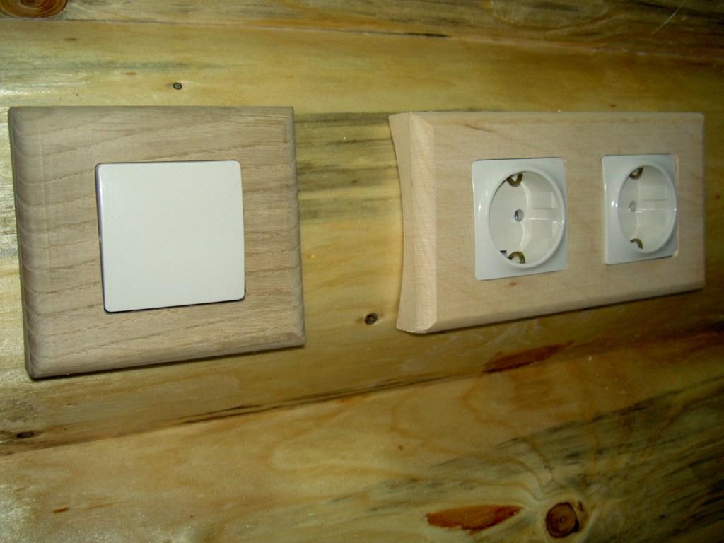 Скрытая установка выключиталей и розеток