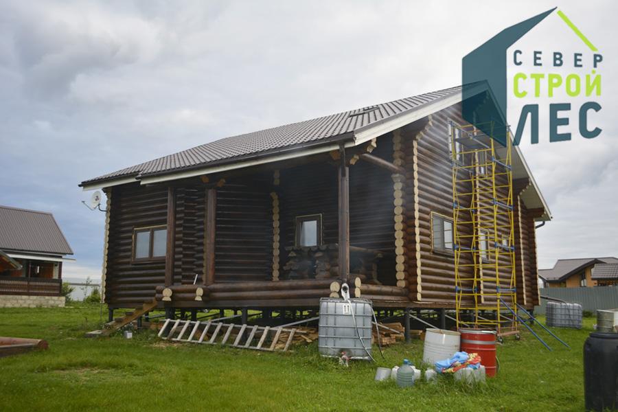 Стили бревенчатых домов - 2