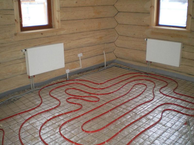 Теплый пол в деревянном доме - 2