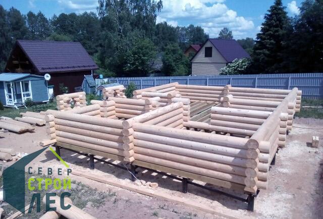 Толщина стен деревянного дома