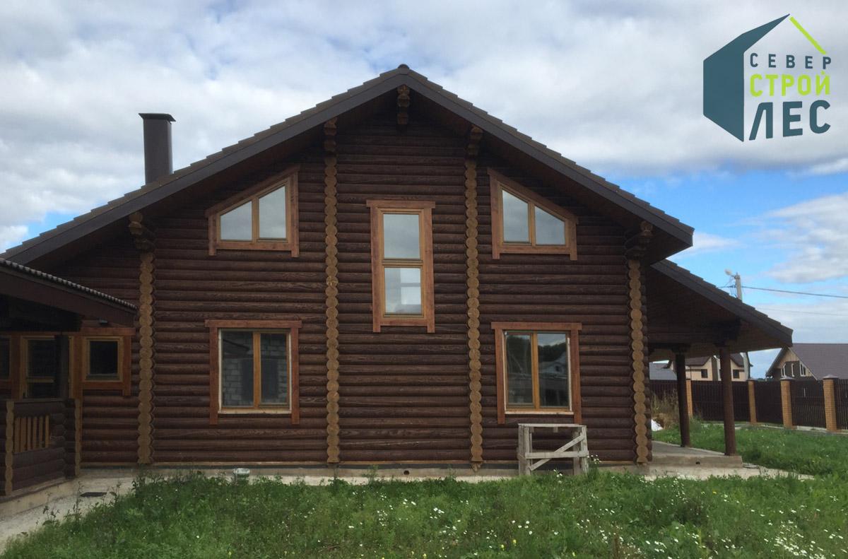 Красивый дом в стиле шале