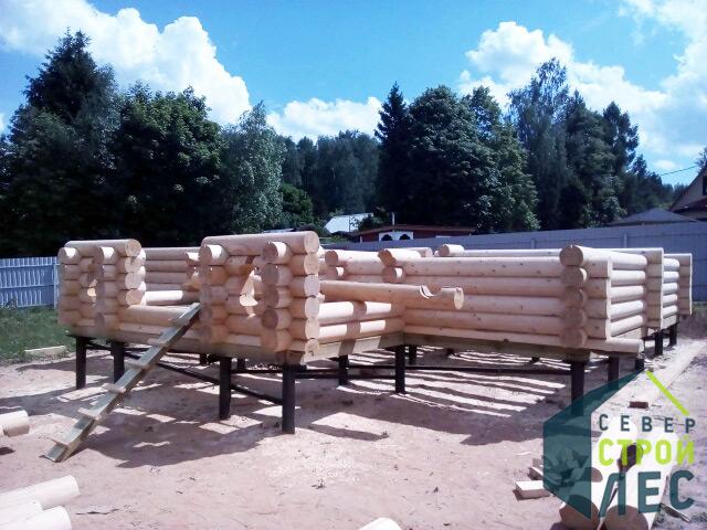 Утепление пола деревянного дома на винтовых сваях