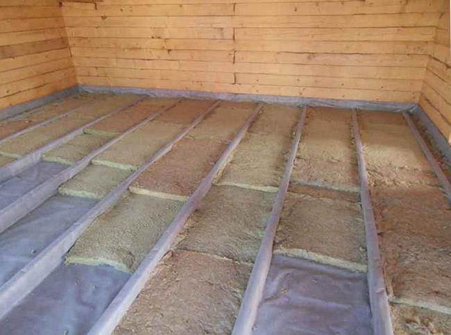 Утепление пола в деревянном доме - 2