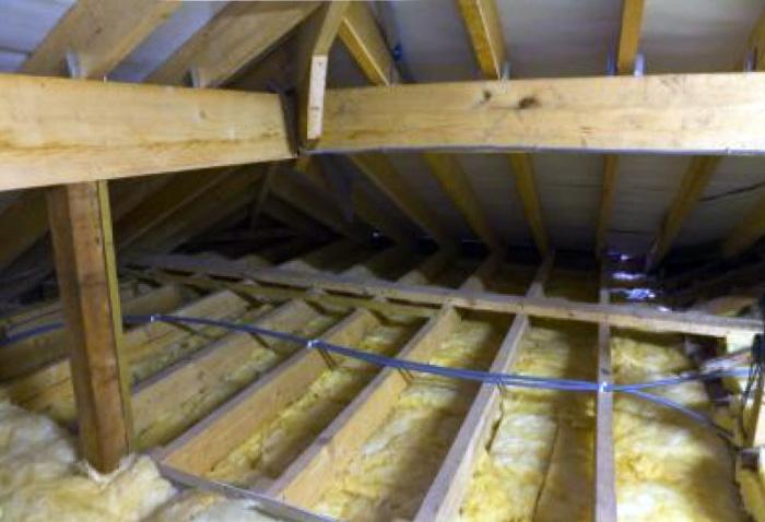 Как утеплить потолок в бане - 2