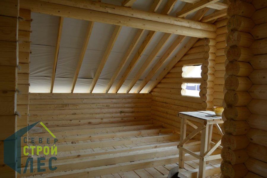 Комплектация дома из бревна под крышу - 2