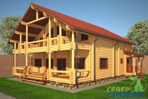 Коттедж Б43 Для большой семьи
