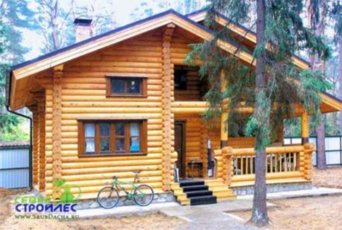 Дом из бревна Б16 Ничего лишнего